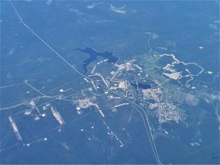 Oil fields near the Yarega village in the Komi Republic