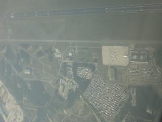 В полете над аэропортом Веезе