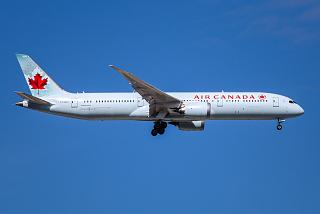 Boeing-787-9 C-FGDX airlines Air Canada