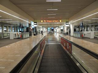 The transition to Brussels airport