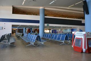 В чистой зоне аэропорта Марса-Алам