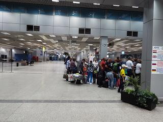 Hall check-in for international flights terminal 2-Hurghada international airport