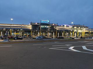 Terminal A for international flights at Kiev Sikorsky Airport