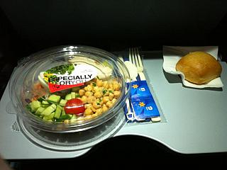 Food on the flight Israir tel Aviv - Rome
