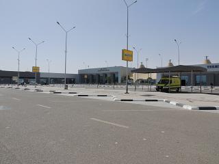 Привокзальная площадь аэропорта Хургада