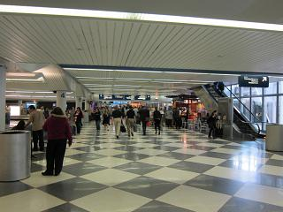 Baggage claim at the airport Chicago O'hare