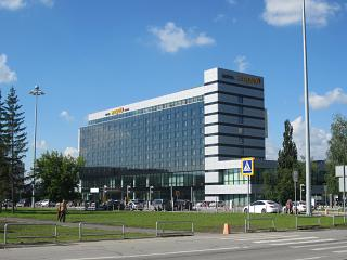 The hotel Angelo airport Ekaterinburg