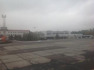 Аэропорт Одесса - вид с перрона
