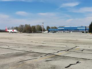Apron of the airport Ulyanovsk Baratayevka