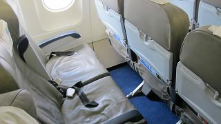 Seats in economy class in Airbus A320 Ural airlines