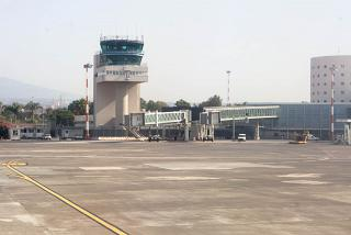 The control tower of the airport Catania-Fontanarossa