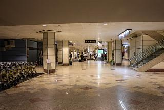 Hall of issuance terminal T2 of Barajas airport