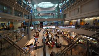 In terminal 3 Dubai airport
