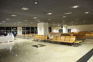 Зал ожидания в аэропорту Фуншал на острове Мадейра