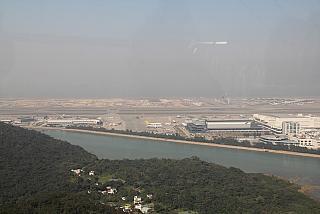 Views of Hong Kong international airport