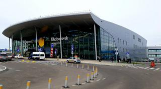 New passenger terminal of Khabarovsk airport