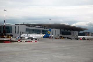 Passenger terminal of airport Saint Petersburg Pulkovo