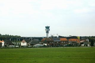 The control tower at Brussels airport
