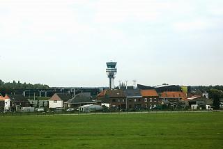 Диспетчерская башня аэропорта Брюссель
