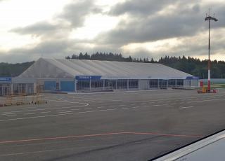 Терминал B международных рейсов аэропорта Калуга Грабцево