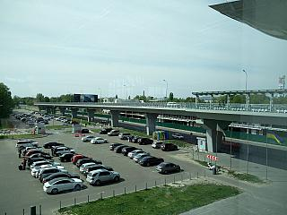 Car Parking at the terminal D of Borispol airport