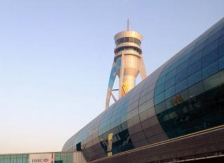 Control tower of airport Dubai