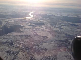 During takeoff from Kaliningrad
