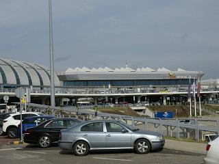 Terminal 2A of Budapest airport