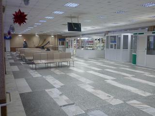 Зал ожидания в аэропорту Ноябрьск