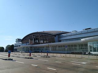 Терминал B аэропорта Киев Борисполь