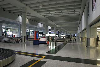 Baggage claim in terminal 1 Hong Kong airport