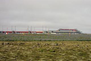 Пассажирский терминал аэропорта Кефлавик в Рейкьявике