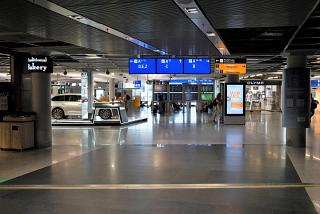In Terminal 1 of Frankfurt Airport