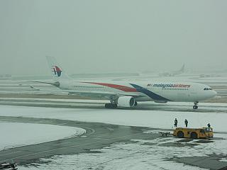 Airbus A330-300 авиакомпании Malaysia Airlines в аэропорту Сеула