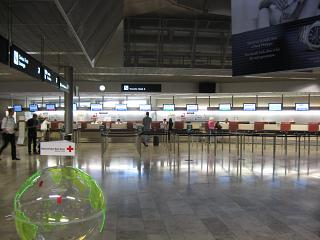 The facilities for transfer passengers at Zurich airport