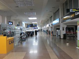 In the domestic terminal of the airport Pashkovskiy Krasnodar