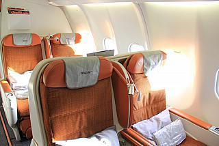 Business class Airbus A330-200 Aeroflot