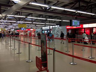 At the airport Berlin Tegel