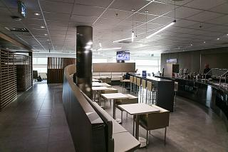 Business lounge Air France - KLM in terminal 3 of Toronto Pearson international airport