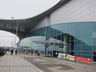 Terminal D of Sheremetyevo airport