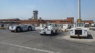 В аэропорту Катманду Трибхуван
