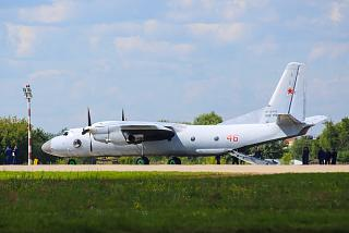 Antonov an-26 Russian air force in Zhukovsky airport