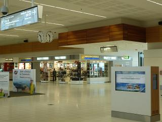 The Duty free stores in Adelaide airport