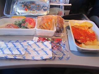 Питание на рейсе авиакомпания Якутия
