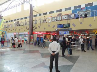 Зал прилета в аэропорту Лангкави