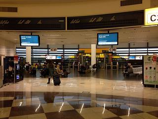 Выходы на посадку в терминале 1 аэропорта Вена Швехат