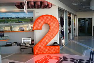 Museum of Sheremetyevo airport on 5 floor of terminal F