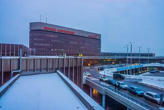 The terminal F of Moscow airport Sheremetyevo