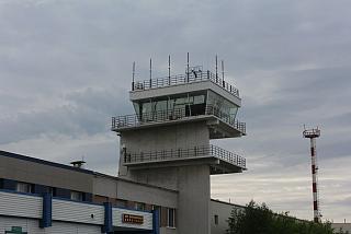 Диспетчерская вышка аэропорта Мурманск