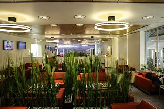 The business lounge of Vilnius airport